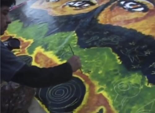 Gustavo Chavez, pintar la libertad (2005)